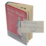 Lot 48 - 'The Walter Hagen Story' Book by Walter Hagen -First Edition Signed by Walter Hagen