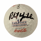 Lot 5 - Phil Mickelson Signed Tour Championship Coca-Cola Logo Golf Ball JSA COA