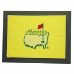 Lot 53 - 1997 Masters Embroidered Center Flag - Rare - Mounted