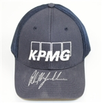 Lot 53 - Phil Mickelson Signed KPMG Hat JSA ALOA