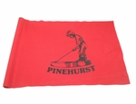 Lot 53 - Pinehurst Country Club Red Course Used Flag - JOHN ROTH COLLECTION