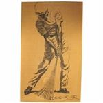 Lot 55 - Ben Hogan Fredrix Company Mid-Swing Print Canvas - No. 28
