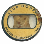 Lot 56 - 1946 Masters Tournament Clubhouse Badge