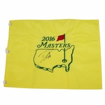 Lot 56 - Danny Willett Signed 2016 Masters Embroidered Flag JSA ALOA