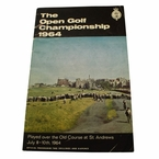 LOT #58: 1964 British Open Program - Tony Lema Winner - St. Andrews