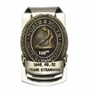 Lot 59 - Frank Stranahan's Personal Money Clip-100th Anniversary of North/South Amateur