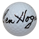 Lot 61 - Ben Hogan Signed 'Hogan Legend' Logo Golf Ball JSA #Y81974