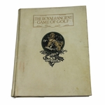 """Lot 62 - 1912 """"The Royal & Ancient Game of Golf' Deluxe Ltd Ed Book #2/100 - Hilton & Smith-SCARCE"""