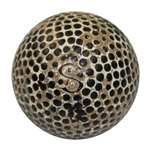 Lot 63 - Vintage Silvertown S Bramble Golf Ball - Circa 1890's