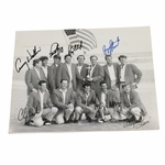 Lot 67 - 1991 Ryder Cup 8x10 Team Photo Signed by Nine Stars JSA COA