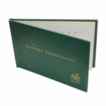 Lot 67 - 1952 Masters Tournament Leather Album Players Gift- Crawford Johnson, Jr. from Augusta National GC