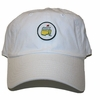 Lot 68 - Augusta National Golf Club Members Only Circle Patch White Hat