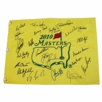 Lot 68 - Ray Floyd's 2010 Masters Champs Dinner Flag - 23 Champs!