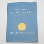 Lot 69 - 1953 The Walker Cup at The Kittansett Club Program - USA 9-3
