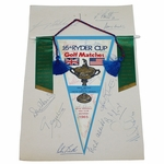 Lot 70 - 1965 Ryder Cup Pendant Signed by American & British Teams