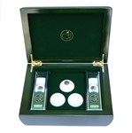 Lot 71 - 2015 Limited Edition Emerald Green Members Box With Golf Balls