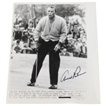 Lot 73 - Arnold Palmer Signed 8x10 Wire Photo Picture JSA ALOA