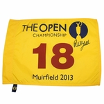 Lot 74 - Phil Mickelson Signed 2013 Open Championship at Muirfield Flag