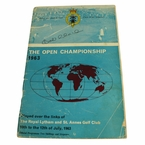 LOT #74: 1963 Open Championship Program Signed by Bob Charles - Royal Lytham JSA COA