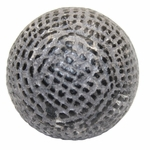 Lot 75 - 1875 Large Vintage Hand Hammered Gutty Golf Ball