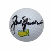 Lot 79 - Jack Nicklaus Signed Masters Logo Golf Ball - JSA COA