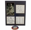 Lot 8 - First and Last To Walk on the Moon Autographs - Neil Armstrong and Gene Cernan