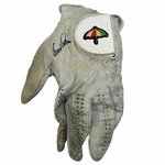 Lot 80 - Arnold Palmer Signed Game Used Golf Glove