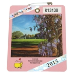 Lot 81 - 2015 Masters Badge - Jordan Spieth
