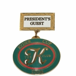 Lot 81 - 2006 Ryder Cup at The K Club 'President's Guest' Badge - VIP of Dr. WJ Smurfit
