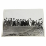 Lot 81 - 1934 US Open Lawson Little Wire Photo - Driving