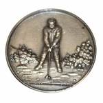 Lot 83 - Sterling Silver 1893 Derbyshire Golf Club Medal - JOHN ROTH COLLECTION