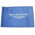 Lot 85 - Jack Nicklaus Signed Dallas Athletic Club Course Flown Flag-Site of '63 PGA Win- JSA COA