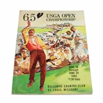 Lot 85 - 1965 US Open at Bellerive Country Club Program - JOHN ROTH COLLECTION