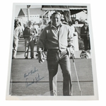 Lot 87 -Vintage Arnold Palmer Signed Black and White 8 x 10 Photo
