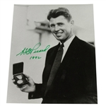 Lot 88 - Henry Picard Signed 8x10 Black and White Photo - Holding Medal JSA ALOA