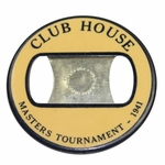 Lot 9 - 1941 Masters Tournament Clubhouse Badge - Craig Wood Winner