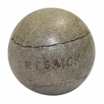 Lot 9 - Mid 1800's Feathery 'Gressick' Ball - One of Finest Conditions Known