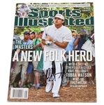Lot 91 - Bubba Watson Signed Sports Illustrated - 4/16/2012 JSA ALOA