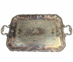 Lot 94 - Augusta National 1951 Bowman Milligan Recognition-First Employee- Gorham Tray