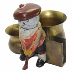 Lot 95 - Vintage Dunlop Man Standing with Two Cup and Holder