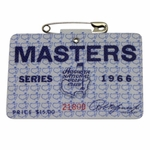 Lot 97 - 1966 Masters Tournament Badge - #21800 - Nicklaus Winner