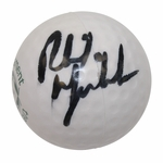 """Lot 79 - Phil Mickelson Signed The Memorial Logo Soft """"Squeeze"""" Golf Ball"""