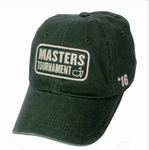 Masters 2016 Vintage Green Caddy Hat