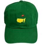 Masters Caddy Slouch Hat - Green Most Popular hat!