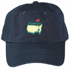 Masters Caddy Slouch Hat - Navy- Classic Masters Hat