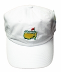 Masters Caddy Slouch Hat - White