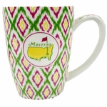 Masters Ceramic Diamond Pattern Coffee Mug