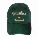 Masters Green Script Slouch Hat