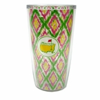 Masters Insulated 16 oz Tumbler with Diamond Pattern