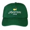 2014 Masters Stacked Logo Green Hat NEW STYLE!